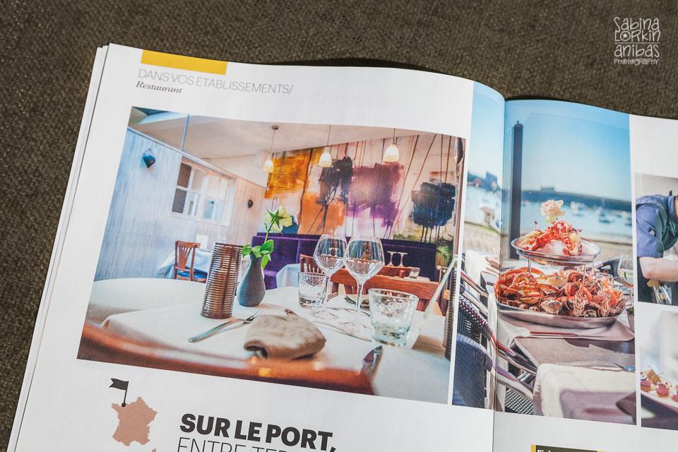 Découvrez la photographie commerciale en Normandie du restaurant La Citadelle Granville par Sabina Lorkin Anibas Photography