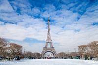 Paris in the snow - 2018