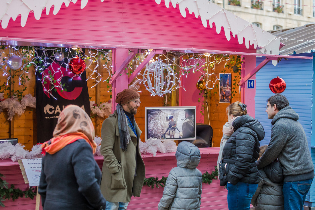 Discover photos of the Caen, Christmas Market by photographer Sabina Lorkin - Normandy, France