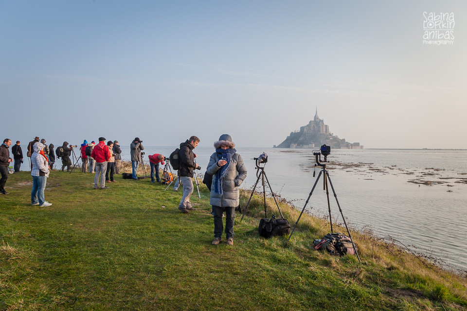Discover photos of the 'Tides of the Century' at the world famouse Mont St Michel by British photographer in Normandy Sabina Lorkin