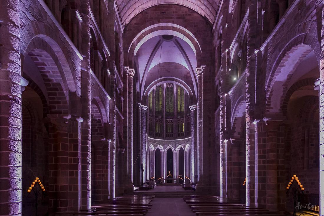 Discover the Nocturnes de l'Abbaye at the Mont St Michel - Manche - France