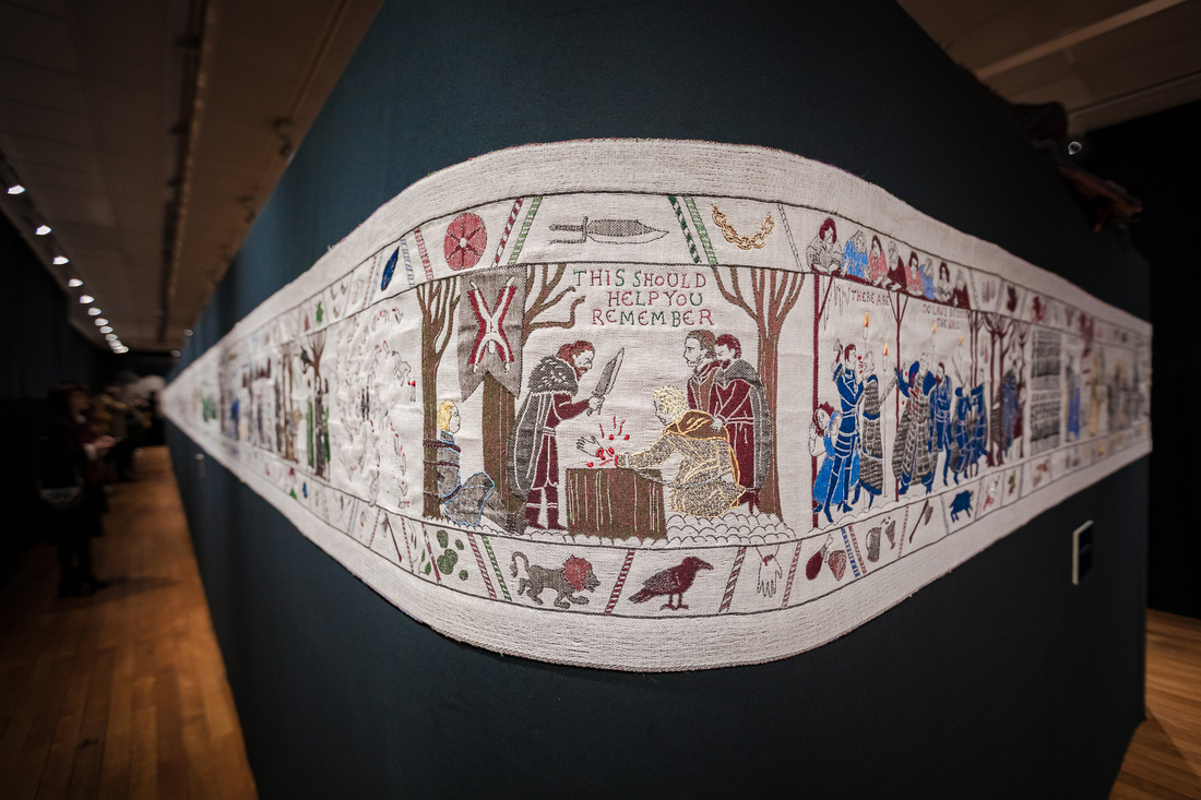 The Game of Thrones Tapestry in Bayeux - Calvados - Evening hosted by Normandie Tourisme - #NormandieMedievale