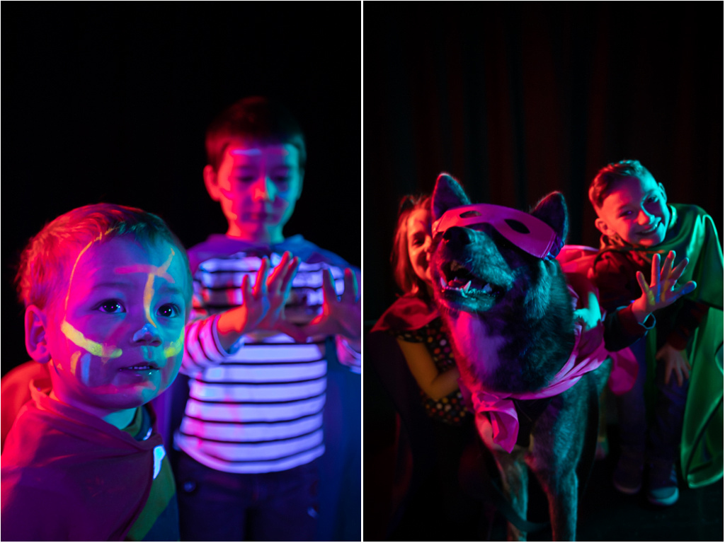 Colourful, fun 'Superheroes' photo-shoots for kids with rare illnesses for #RareDiseaseDay