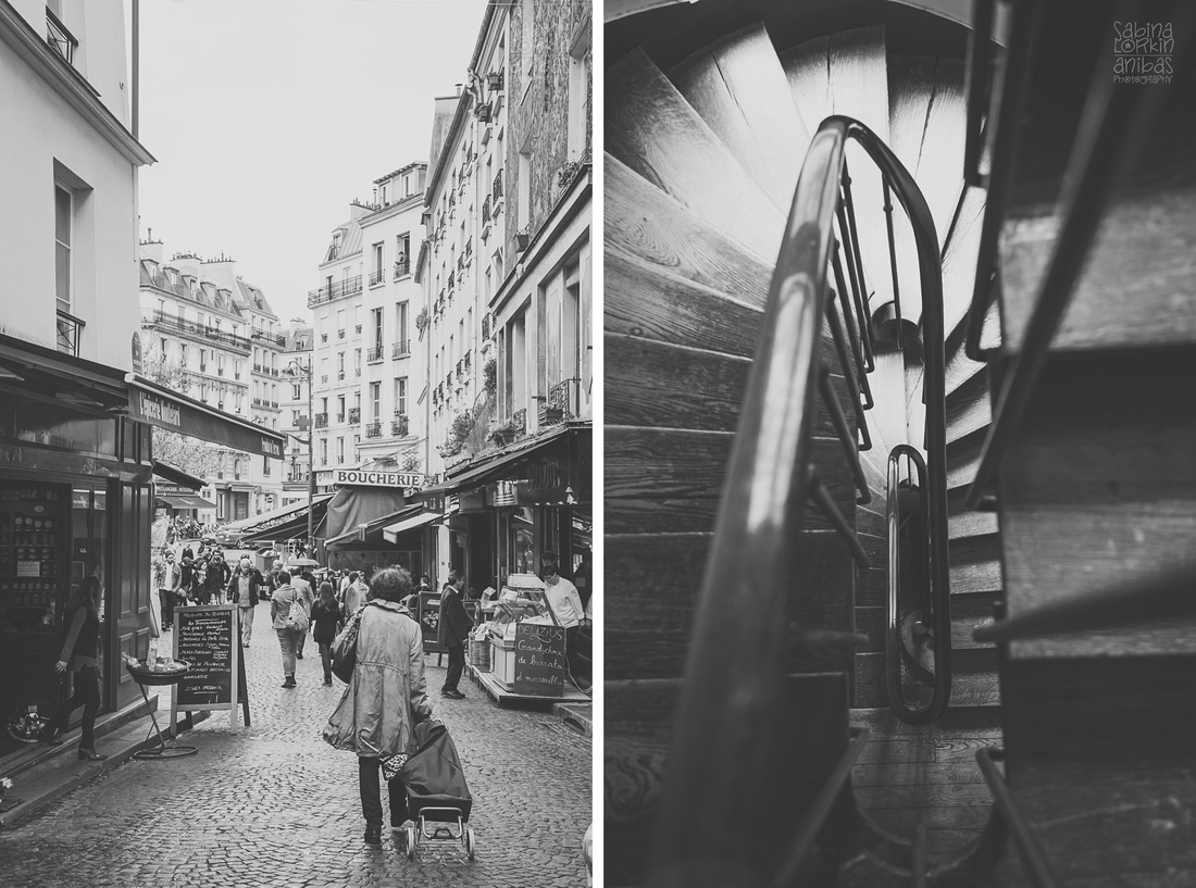 "Discover a photo reportage of ""A girl in Paris"" Discovering the Capital...aged eight and a half by artisan photographer Sabina Lorkin"