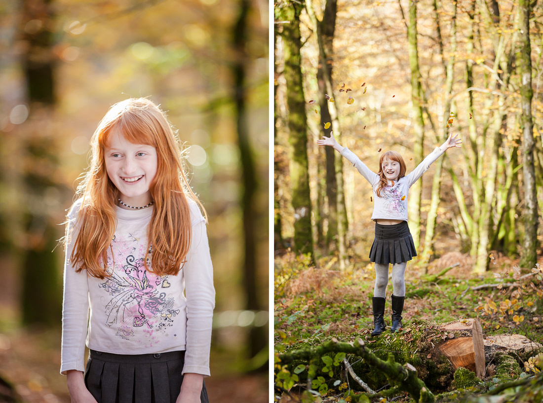 Discover why autumn is the perfect time for a family photo-shoot in Normandy, France
