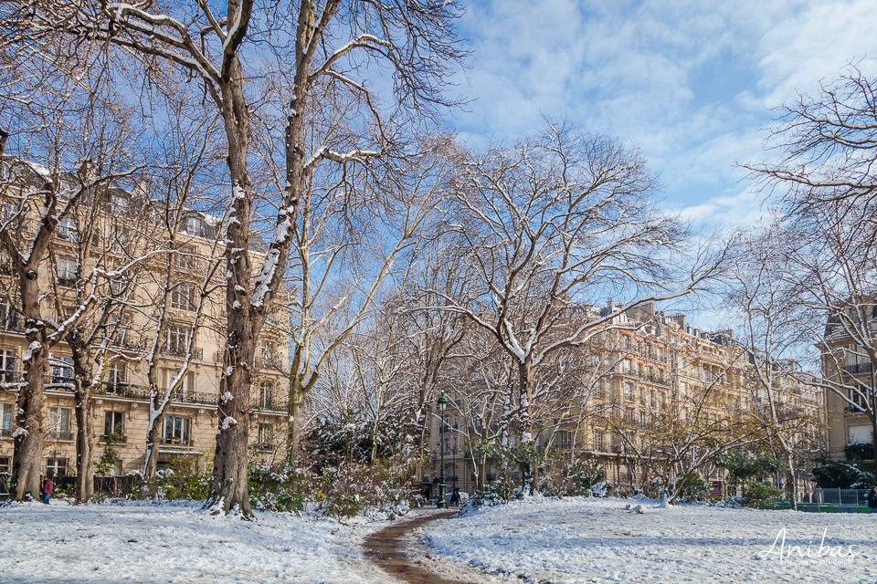 Discover Paris in the Snow with photographer Sabina Lorkin, who happened to be there when it became a Winter Wonderland - 2018