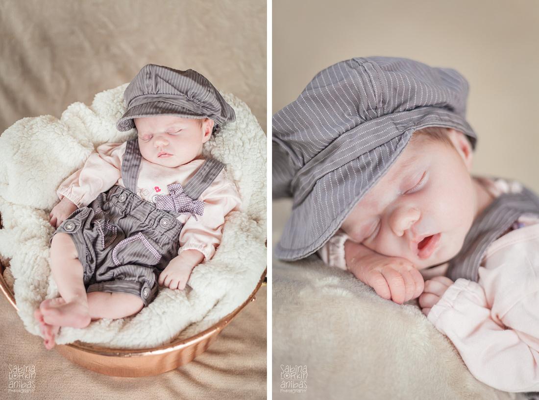 Discover the beautiful newborn and baby photos of Normandy based artisan photographer Sabina Lorkin